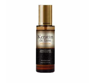 Масло с кератином для волос Keratin De Luxe 100 мл
