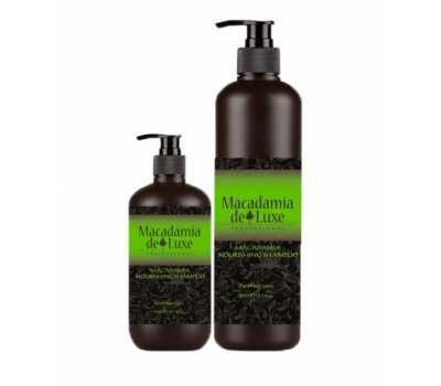 Шампунь питательный с маслом макадамии MACADAMIA de Luxe Shampoo