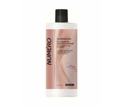 Шампунь для волос с ценными маслами для придания блеска Brelil Numero Hair Professional Shampoo