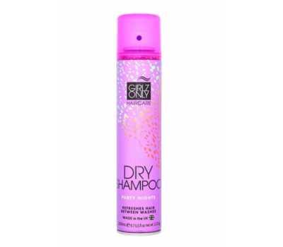 Универсальный сухой шампунь с насыщенным цветочным ароматом Girlz Only Hair Care Party Nights Dry Shampoo, 200 мл