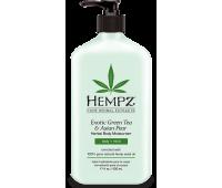 Увлажняющее молочко для тела зеленый чай азиатская груша Hempz Exotic Green Tea Asian Pear Herbal Moisturizer