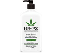 Растительное увлажняющее молочко для тела Кокос Арбуз Hempz Fresh Coconut Watermelon Herbal Body Moisturizer