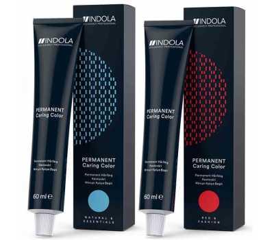 Стойкая краска для волос Indola Permanent Caring Color