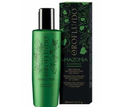 Шампунь для слабых и поврежденных волос Orofluido Amazonia Shampoo 200 мл