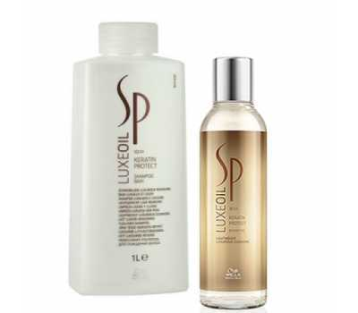 Шампунь кератиновосстанавливающий WELLA SP Luxe Oil Keratin Protect Shampoo